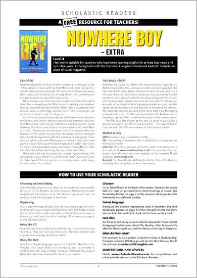 Nowhere Boy - Sample Page