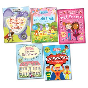 Scholastic Activities Pack x 5