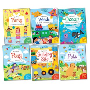 Scholastic My First Activities Pack x 6