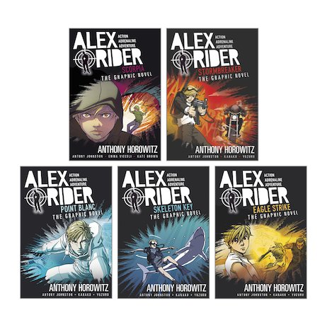 Alex Rider Graphic Novels Pack x 5
