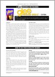 Glee 3: Summer Break - Sample Page (4 pages)