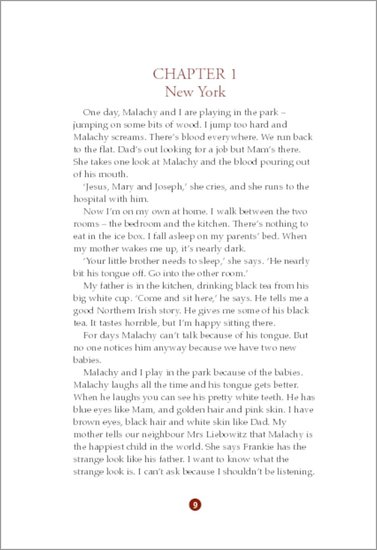 Angela's Ashes - Sample Page