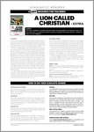 A Lion Called Christian - Sample Page (6 pages)