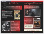 The Mask of Zorro - Sample Page (3 pages)