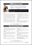 Prince William and Kate Middleton - Resource Sheet and Answers (4 pages)