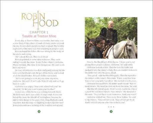 Robin Hood: The Silver Arrow and the Slaves - Sample Page