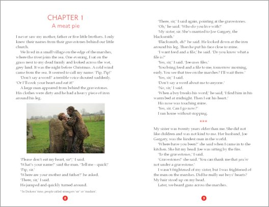 Great Expectations - Sample Page