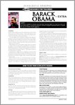 Barack Obama - Sample Page (4 pages)