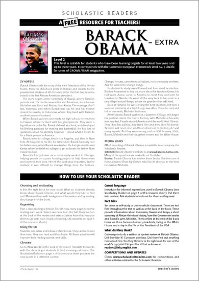 Barack Obama - Sample Page