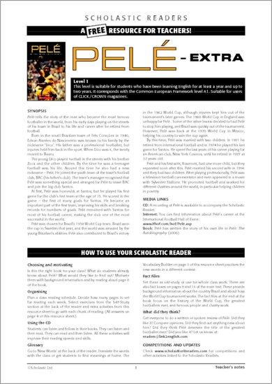 Pele Sample Page