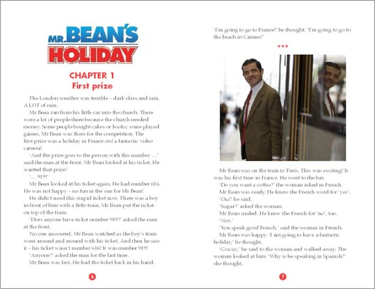 Mr Bean's Holiday Sample Page