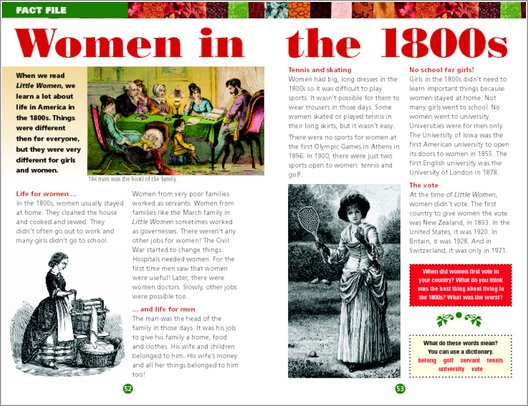 Little Women Sample Page