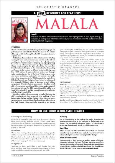 Malala Teachers Notes