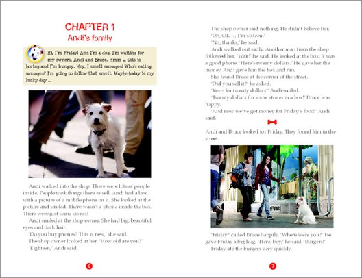 Hotel for Dogs Sample Page
