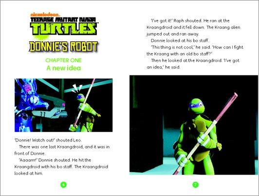 Teenage Mutant Ninja Turtles: Donnie's Robot Sample Page