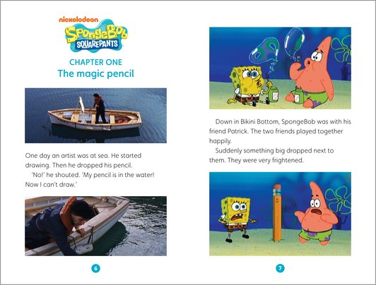 SpongeBob Squarepants: Doodlebob Sample Page