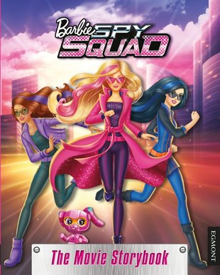 Barbie Spy Squad: The Movie Storybook