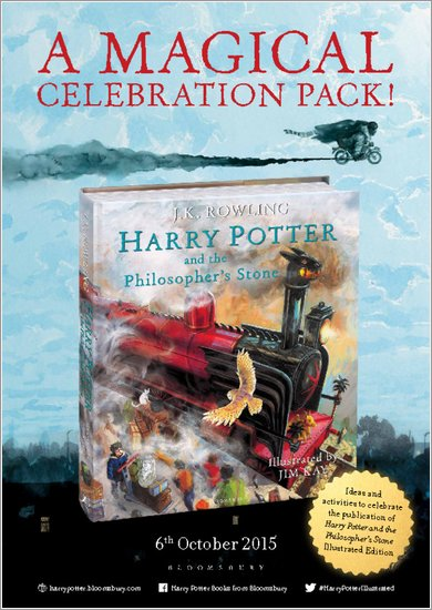 Harry Potter and the Philosopher's Stone (Illustrated Edition) Celebration Pack