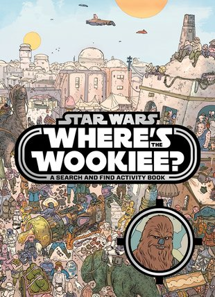 Star Wars: Where's the Wookiee? A Search and Find Activity Book