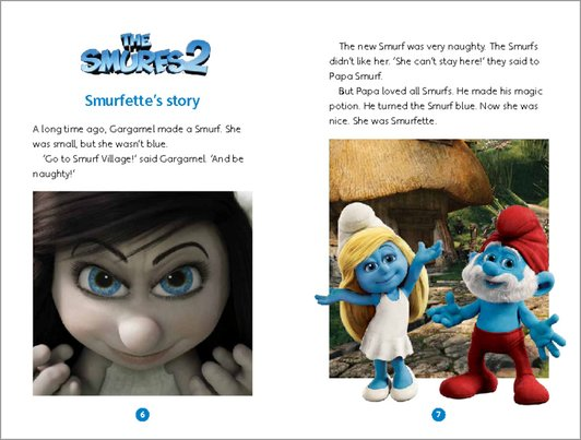 The Smurfs 2 Sample Page