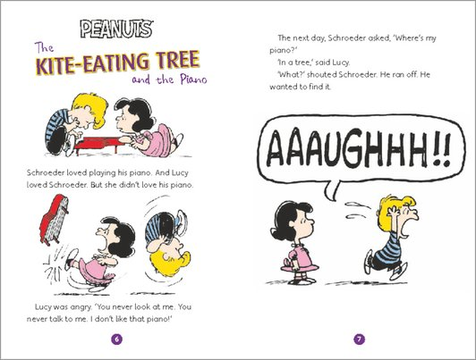 Peanuts: Snoopy and Friends Sample Page