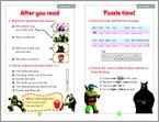 Teenage Mutant Ninja Turtles: Rise of the Turtles Sample Page (1 page)