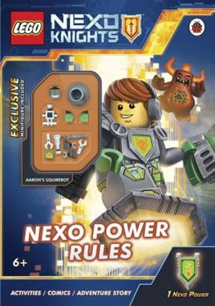 LEGO® Nexo Knights™: Nexo Power Rules! Activity Book