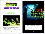 Teenage Mutant Ninja Turtles: Rise of the Turtles Sample Page (1 page)