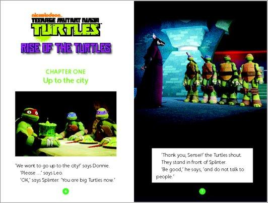 Teenage Mutant Ninja Turtles: Rise of the Turtles sample chapter