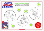 Crazy Christmas Baubles (1 page)