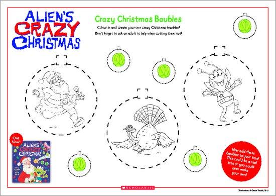 Crazy Christmas Baubles