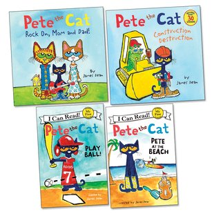Pete the Cat Pack x 4