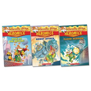 Geronimo Stilton Heromice Pack x 3