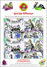 Birthday spot the difference act puz 1422534
