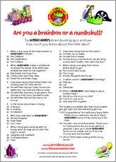 Birthday act quiz 1422526