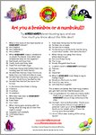 Horrid Henry Birthday Quiz (1 page)