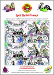 Horrid Henry Spot the Difference Puzzle Activity (1 page)