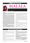 Malala Teacher's Notes (4 pages)