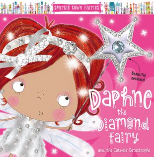 Daphne the Diamond Fairy with FREE Necklace