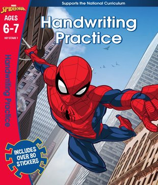 Spider-Man Handwriting Practice (Ages 6-7)