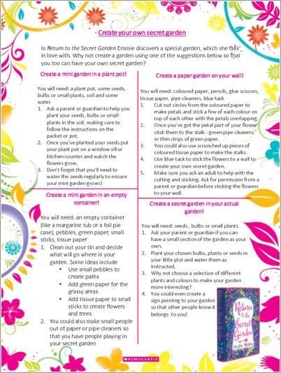 Create your own Secret Garden - Free Downloadable