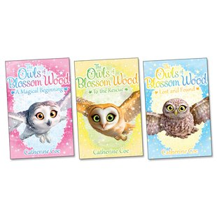 The Owls of Blossom Wood Pack x 3