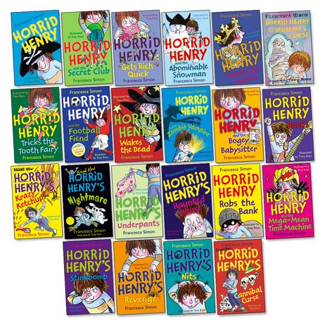 Horrid Henry Pack x 22
