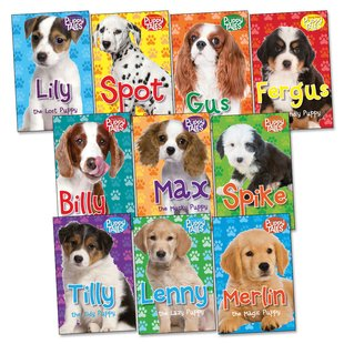Puppy Tales Pack x 10