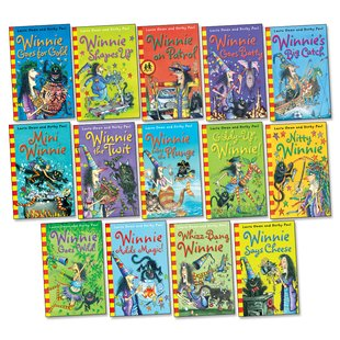 Winnie the Witch Fiction Pack x 14