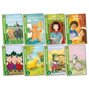 Ladybird Read It Yourself:  Favourite Fairy Tales Pack x 8 (Level 2)