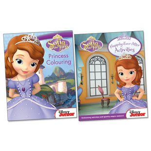Sofia the First: Princess Activity Pack x 2