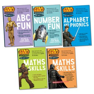 Star Wars Workbooks Pack x 5