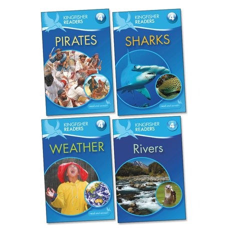 Kingfisher Readers Level 4 Pack x 4