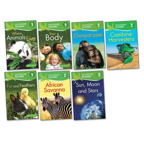 Kingfisher Readers Level 2 Pack x 7